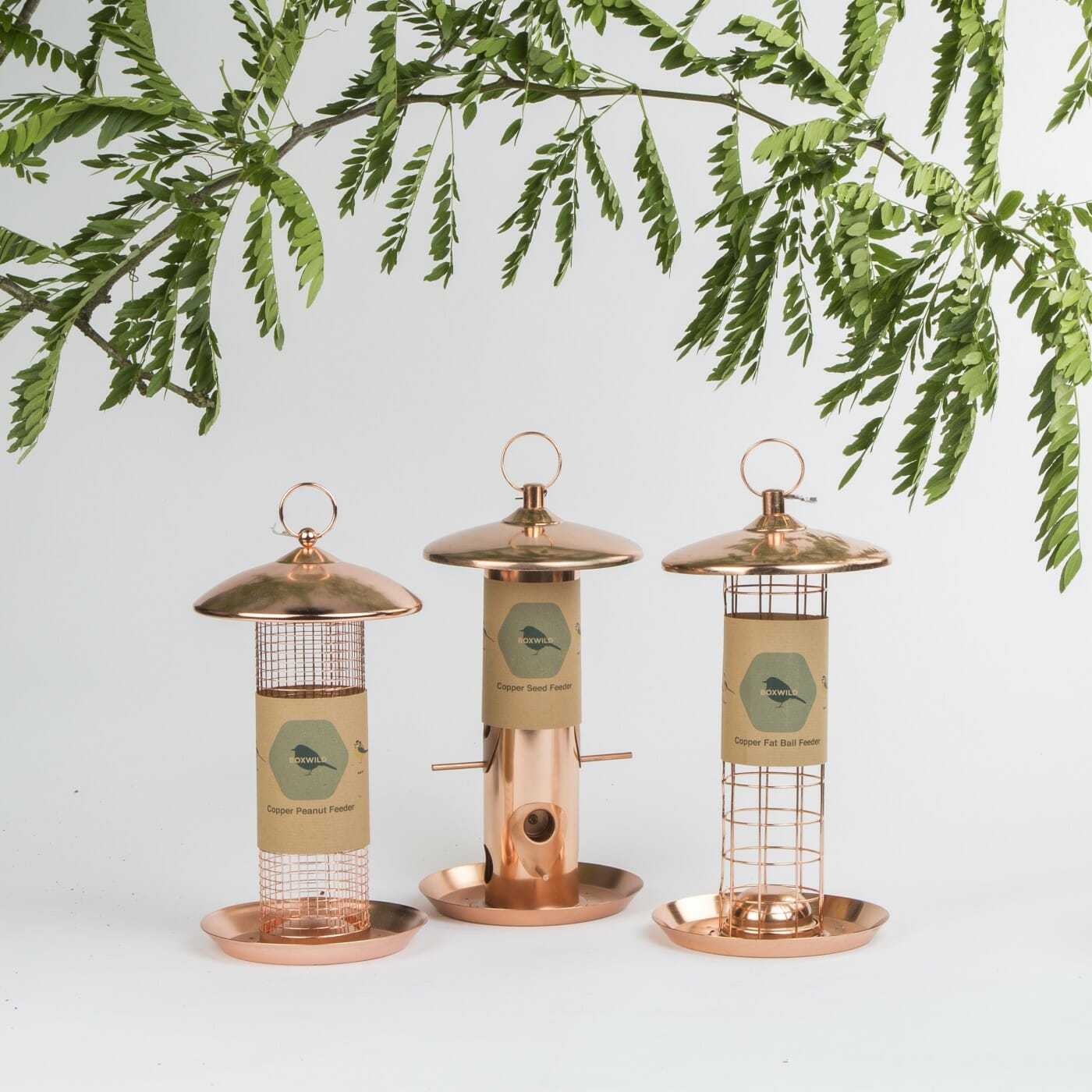 Copper Seed Feeders