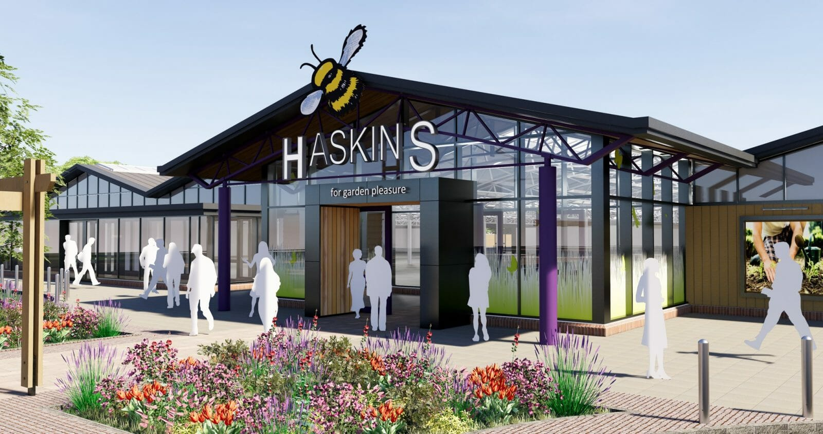 Haskins Garden Centre in Snowhill redevelopment