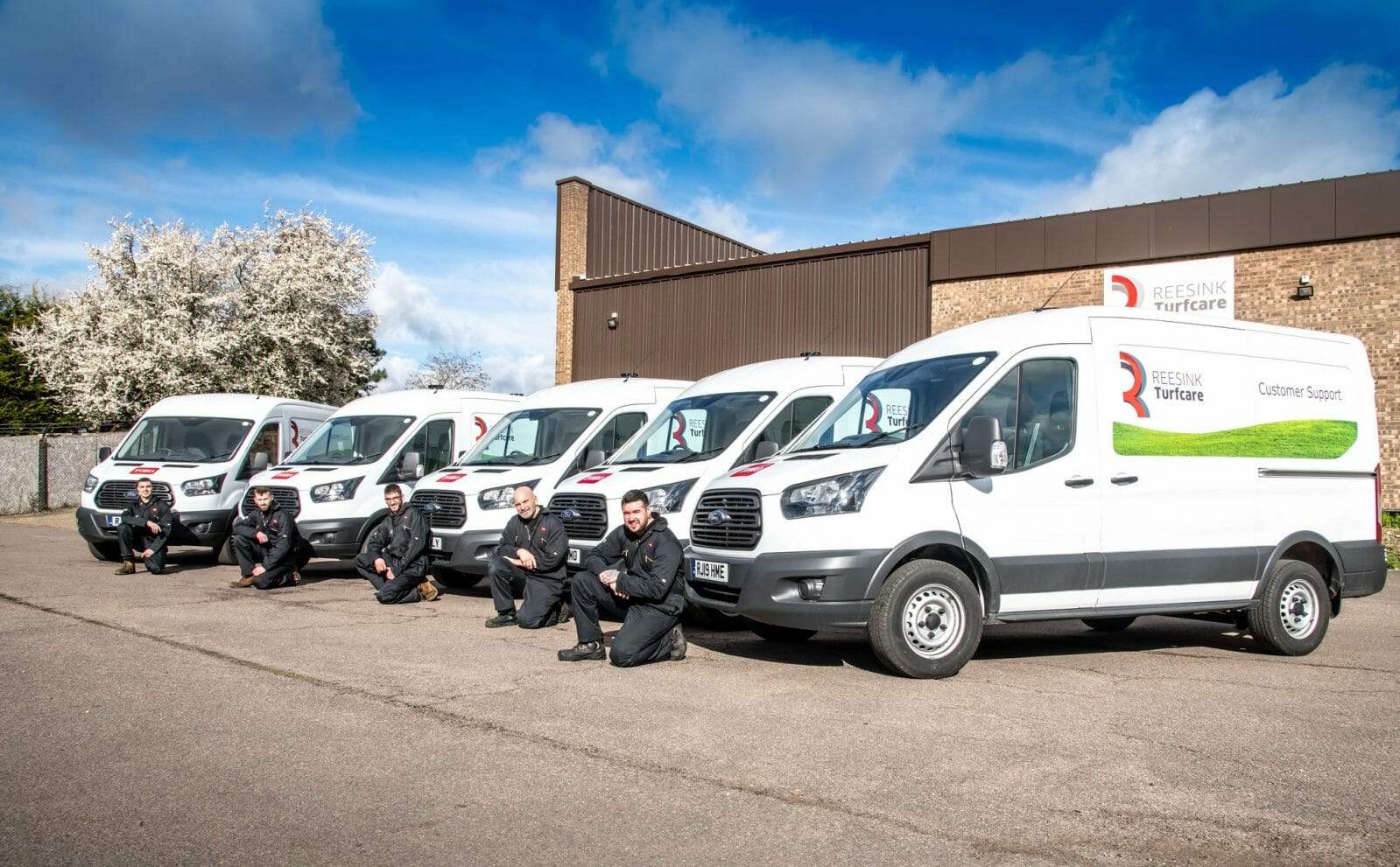 4d75dc7855 GROWTH SEES REESINK TURFCARE INVEST IN FLEET OF VANS TO EXPAND CUSTOMER  SERVICE OFFERING