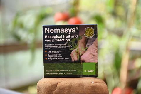 Nemasys Biological Fruit and Veg Protection