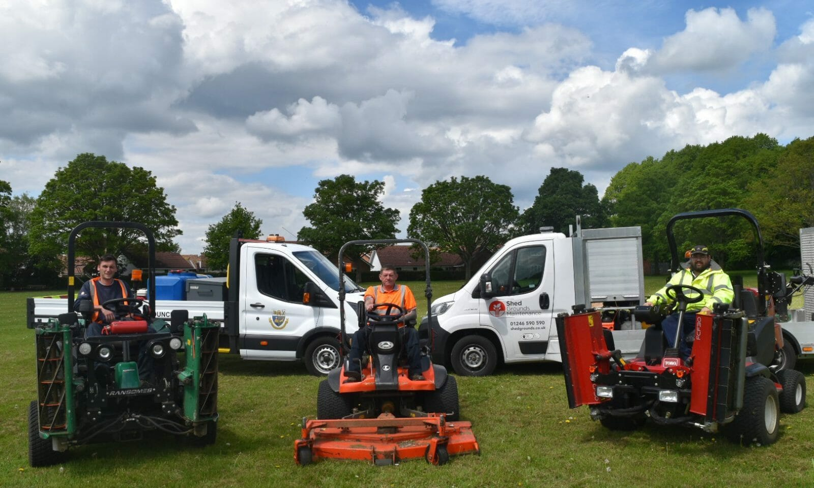 Shed Grounds Maintenance