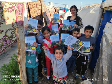 Seeds to Syrian Refugees