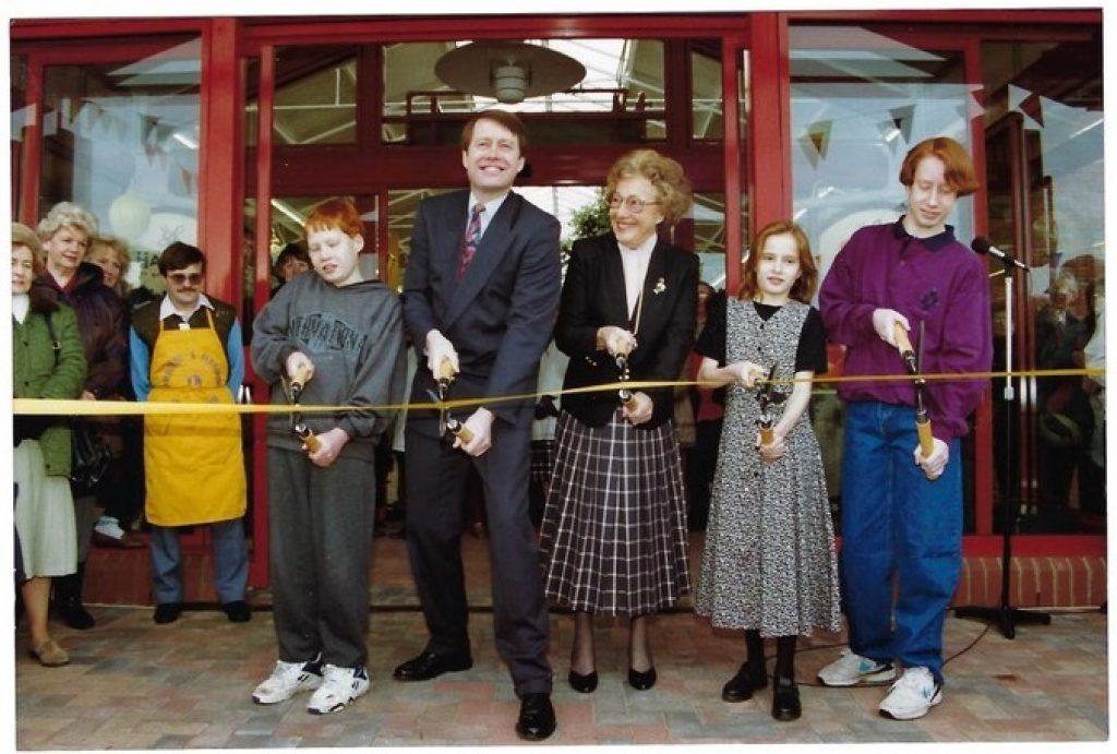 Haskins Garden Centre in Ferndown 25 years