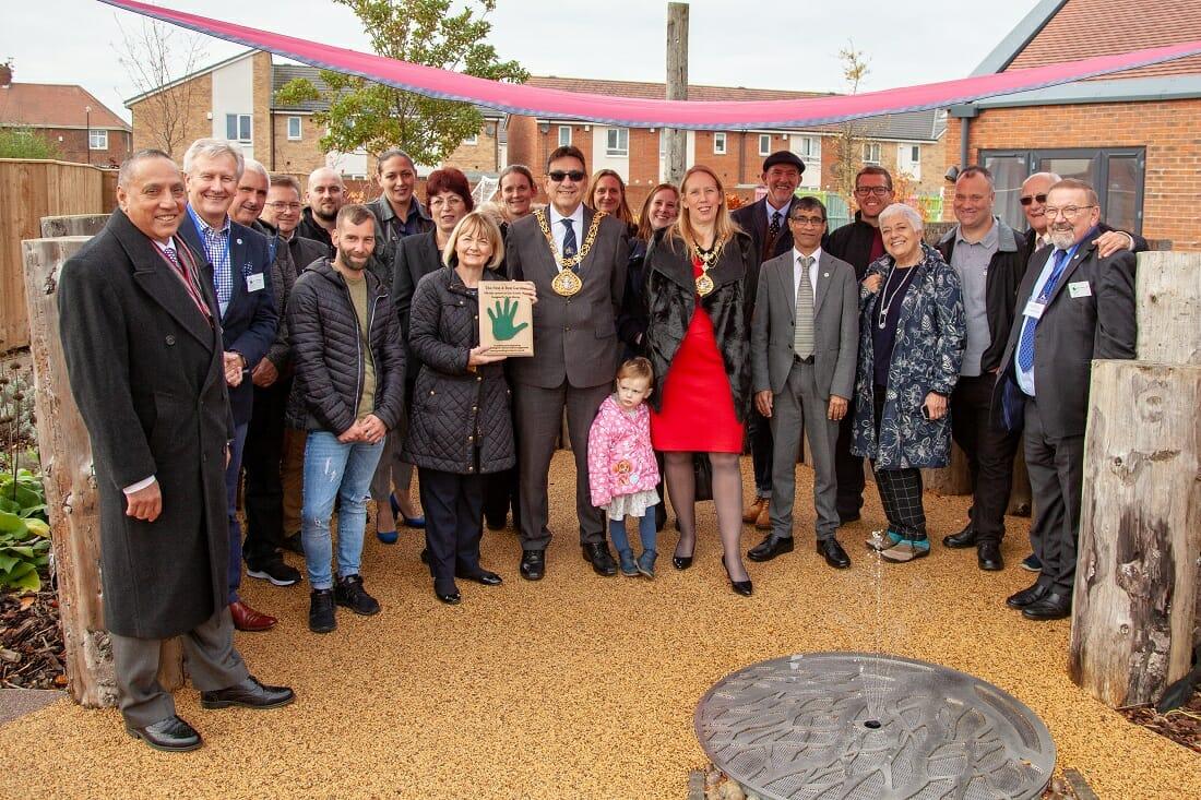 Greenfingers 'Nest & Rest' garden opens at Grace House