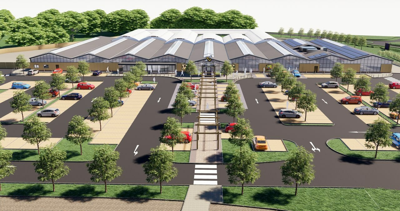 Haskins Garden Centre Snowhill's redevelopment