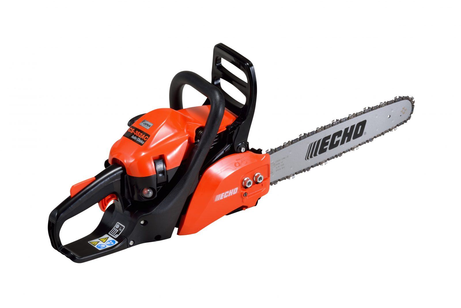 world's first chainsaw with Auto Choke