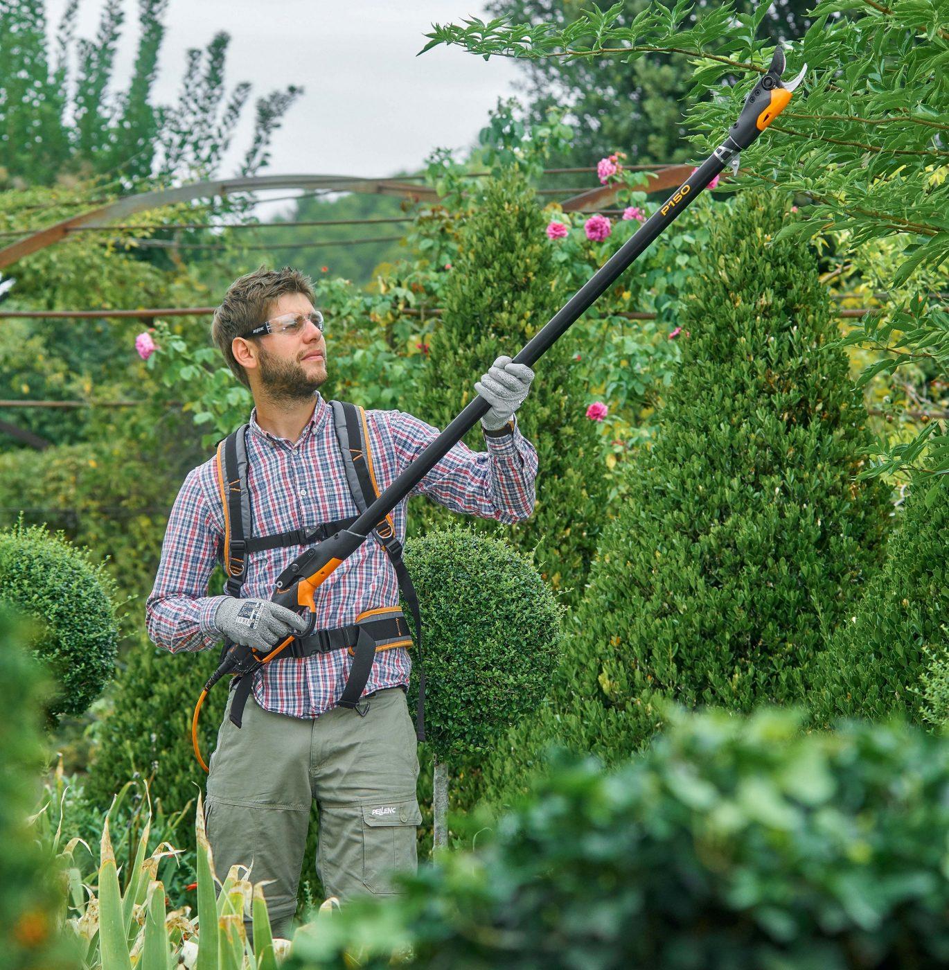 Prunion long-reach pruning shears