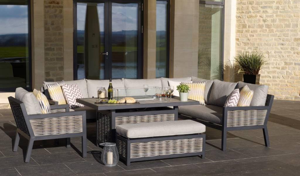 Aluminium Based Portofino Collection, Portofino Outdoor Furniture