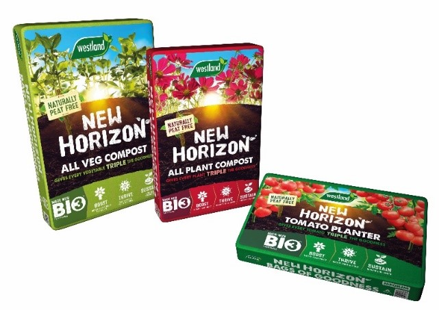 Westland Horticulture will launch the biggest ever advertising campaign for peat-free compost this spring, investing £1.5million in a New Horizon™ TV campaign.