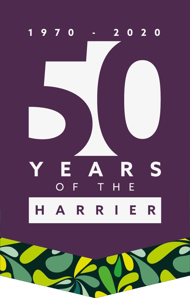 Hayter Harrier celebrates 'golden' 50th anniversary