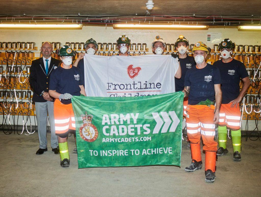 marathon completed 3000 feet under North Yorkshire