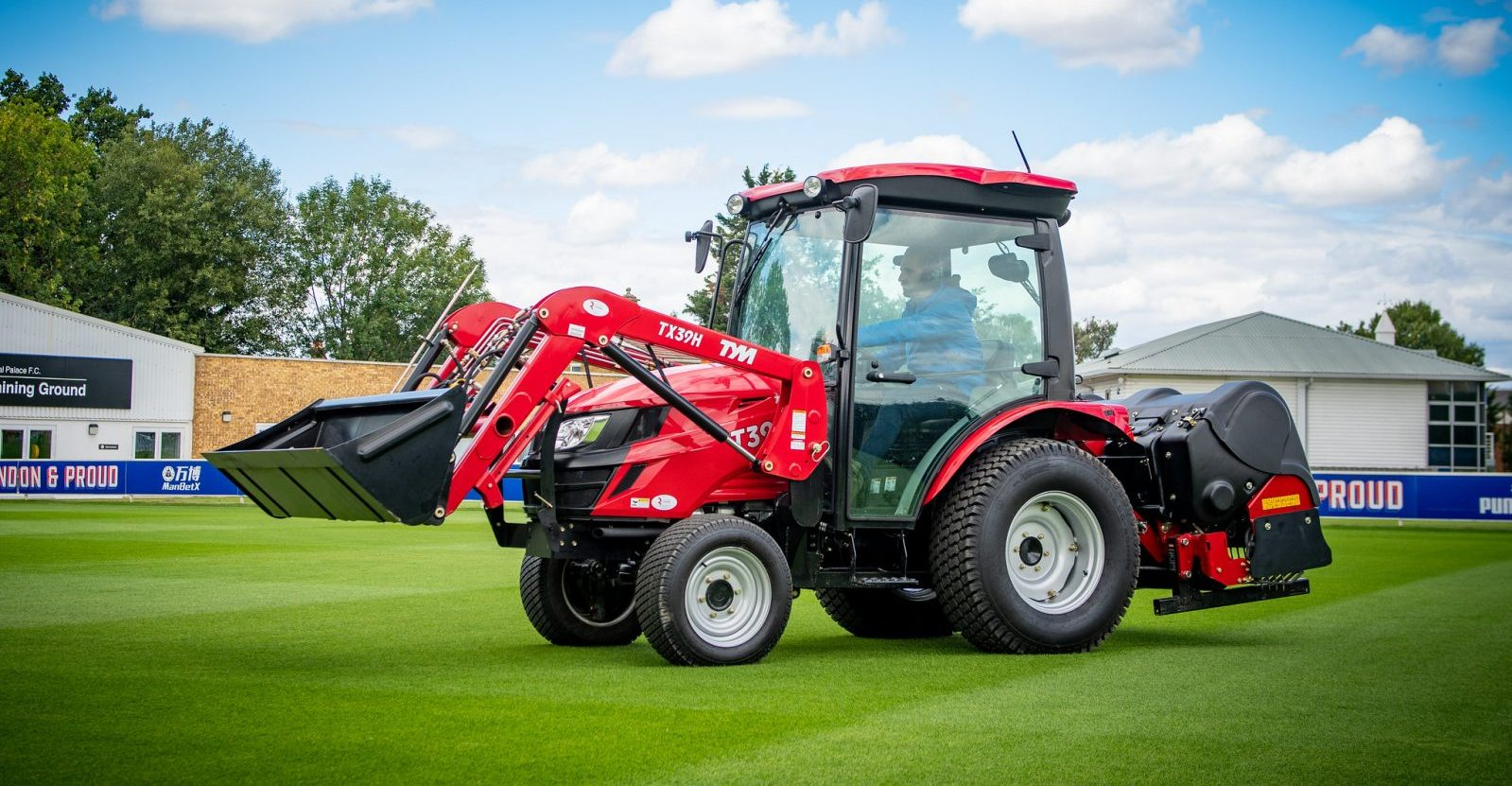 New TYM tractors for Crystal Palace stadium