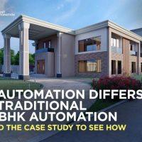 villa automation case study
